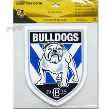 NRL Canterbury Bulldogs iTag Game Day Removable / Reusable Decal