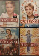 NURSE JACKIE Seasons 1-4 1234 DVD + 5-7 567 Blu-Ray Edie Falco SEALED LOT fr/shp