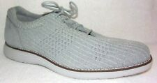 New Rockport Garett Light Gray Mesh Lace Up Shoes Sneakers 9 M