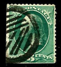 US 1800s Various Town POs ~ Fancy Cancel = Unusual GEOMETRIC ~ Cole #GCR-121