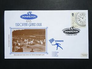 SPO GB Motor Sport Donnington Grand Prix 1993 Official Pilgrim stamp cover