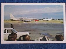 Dallas TX/Love Field/Crowd Waiting for JFK's Plane to Arrive-1963/Braniff/Chrome