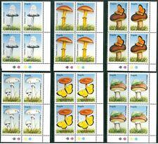 ANGOLA - 1999 - Funghi da tutto il mondo in quartina MNH
