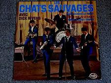 LES CHATS SAUVAGES avec Dick Rivers - LP / 33T