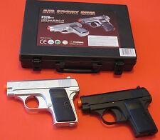 Cool Two Small Spring Airsoft Pistol Cold 0.25 Replica Silver & Black Color