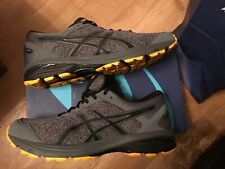 ASICS GEL GT-1000 6 GTX GORETEX MENS RUNNING TRAINER CARBON UK 9.5 EURO 44.5 NEW