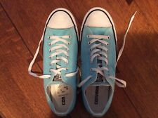 Converse All Star shoes blue unisex men's 9 or women's 11