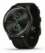 Garmin Vivomove Style Smartwatch 42mm Watch (Graphite/Black) 010-02240-03 *New*