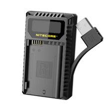 NITECORE UNK2 Dual Port USB Digital Charger for Nikon Batteries EN-EL15