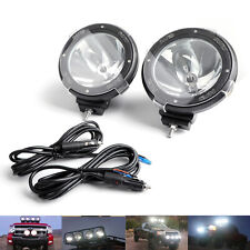 2X HID Xenon Spot Beam Bulb Driving Off Road 7Inch Working Light Lamp 6000K CL C