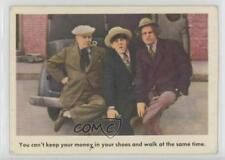1959 Fleer The 3 Stooges #16 You Can't Keep Your Money (Text Back) Card u3f