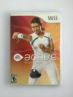 EA Sports Active: Personal Trainer - Nintendo Wii Game - Tested