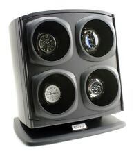 Quad Watch Winder 4 Four Mens Ladies Turner Automatic Luxury Case Holder Rotate