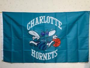 Charlotte Hornets Flag 3X5 FT NBA Banner Polyester FAST SHIPPING!!!