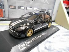 FORD Focus RS MKII Sport Le Mans Edition black Gt40 Look 2010 Minichamps 1:43