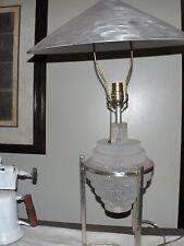 RARE!  MID CENTURY MODERN LUCITE SPUDNIK LAMP ATOMIC EAMES Vtg 50s 60s Mod