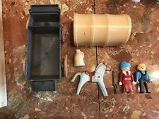 Vintage Playmobil set 3278 Pioneer Covered Wagon Incomplete