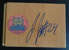JEWELL LOYD Signed WNBA Floor Tile NOTRE DAME FIGHTING IRISH Basketball STORM