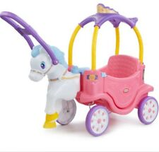Little Tikes Princess Horse and Carriage -