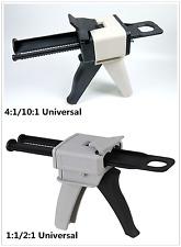 4:1 / 10:1 Ratio Dental Impression Mixing Dispenser Dispensing Gun 50ml 1Pc