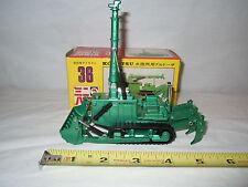 Komatsu D155W Amphibious Bulldozer   By Shinsei  1/60th Scale