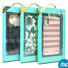 Kate Spade Hardshell Case Cover for iPhone X XS Durable Clear Design New York