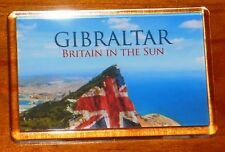 Gibraltar Union jack flag fridge magnet