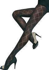 Beautiful semi opaque patterned tights 40 Denier