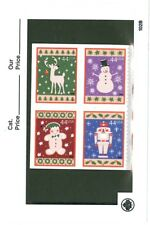 US Scott # 4425 - 4428 / 4428a Christmas Winter Holiday Blk of 4 MNH
