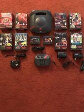 Atari Jaguar Konsole 1 Controller 10 Spiele, getestet und funktioniert