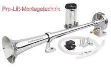 12v Drucklufthorn 1-klang Horn mit Kompressor L 430mm Nebelhorn Signalhorn 02093