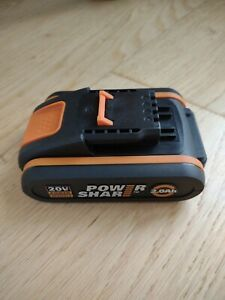 WORX WA3551 18V 20V MAX 2.0Ah Battery pack with charge indicator