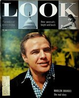 Look Magazine May 17 1955 Marlon Brando Swimsuits Gene Conley Tommy Dorsey