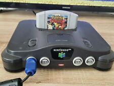 Nintendo 64 Grau Spielekonsole mit 2 Spielen