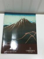 JAPANESE PRINTS 1985 CHRISTIES AUCTION CATALOG Vintage 24264