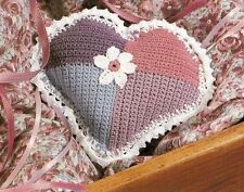 SWEET Patchwork Heart/CROCHET PATTERN INSTRUCTIONS ONLY