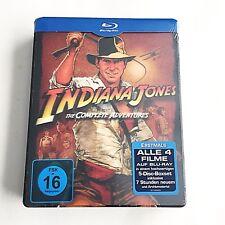 Indiana Jones The Complete Adventures Steelbook [Germany] Lenticular NEW! RARE!