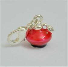 3D RED PERFUME BOTTLE CLIP CHARM