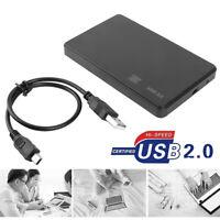 2,5-Zoll-Festplattengehäuse SATA USB2.0 HDD Box Externes Festplatte Gehäuse