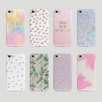 iPhone Samsung Hard Phone Case Iridescent Holographic Hearts Glitter Stars