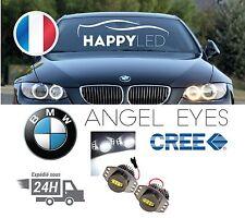 Bmw Angel eyes / Feux de jours LED V2 64W ® E90 E91 6000k Blanc Série 3