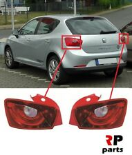 FOR SEAT IBIZA 5D 2008 - 2012 NEW REAR BUMPER TAIL LIGHT LAMP PAIR SET LHD=RHD