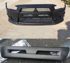 For Mitsubishi Lancer Sportback EVO Black Carbon Plate Cover Front Bumper Grille