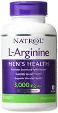 Natrol L-ARGININE 3000mg Sex Health Erectile Function Stamina Performance 90 tab