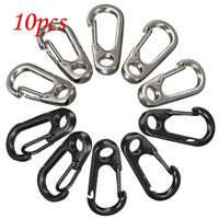 Paracord Mini Carabiner Snap Spring Clips Hook Keychain EDC Survival Outdoor Kit