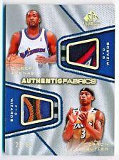 2007-08 SP Game Used Gilbert Arenas Caron Butler Fabrics Dual Patch #AFD-AB /50