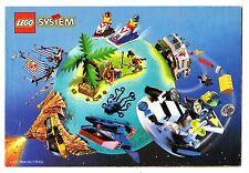 LEGO    CATALOGO  LEGO   1996   NOTICE / INSTRUCTIONS BOOKLET / BAUANLEITUNG