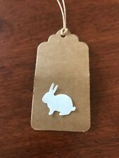 "Scrapbooking Die Cuts / Punch Easter Bunny / Rabbit  Shape "" X 30 Ass"