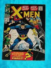 X-MEN # 39, Dec. 1967, Roy Thomas & Don Heck, NEW UNIFORMS! FINE MINUS Condition