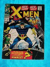 X-MEN # 39, Dec. 1967, Roy Thomas & Don Heck, NEW UNIFORMS! FINE MINUS Condition